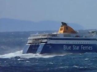 Φωτογραφία για Πως διαμορφώνεται το δρομολόγιο του Blue Star 2 λόγω απαγορευτικού