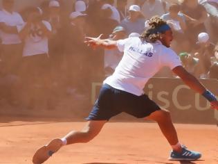 Φωτογραφία για Davis Cup: Με Τσιτσιπά στην 3η θέση η Ελλάδα