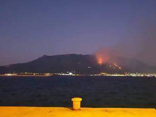 Φωτογραφία για Ολονύχτια μάχη με τις φλόγες στο Λουτράκ