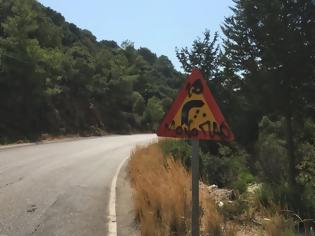 Φωτογραφία για Κίνδυνος από βανδαλισμό πινακίδων κυκλοφορίας - φώτος