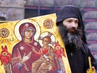 Φωτογραφία για Η Παναγία προστατεύει και παρακολουθεί τους Μοναχούς στο Περιβόλι της σαν καλή Μάνα