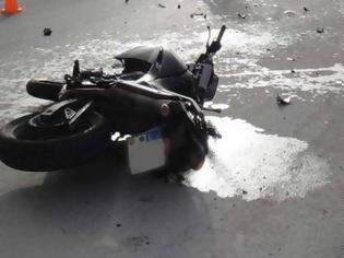 Φωτογραφία για Νέα τραγωδία στην άσφαλτο: Νεκρός δικυκλιστής