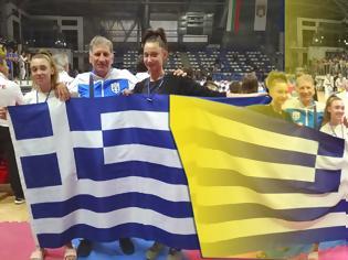 Φωτογραφία για ΚΕΝΤΑΥΡΟΣ ΑΣΤΑΚΟΥ: Την 5η θέση κατέλαβαν οι αθλήτριες ΠΑΠΑΖΩΗ ΔΕΣΠΟΙΝΑ και ΜΑΥΡΙΑΚΑ ΠΑΝΑΓΙΩΤΑ στο βαλκανικό πρωτάθλημα taekwondo στη ΒΟΥΛΓΑΡΙΑ