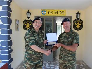 Φωτογραφία για Επίσκεψη Αρχηγού Γενικού Επιτελείου Στρατού στην Περιοχή Ευθύνης της 98 ΑΔΤΕ