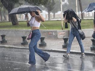 Φωτογραφία για Καιρός - Έκτακτο δελτίο ΕΜΥ: Ισχυρές καταιγίδες και χαλάζι