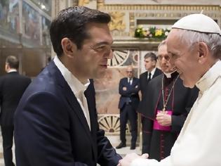 Φωτογραφία για Το «ευχαριστώ» του Αλ. Τσίπρα στον Πάπα Φραγκίσκο