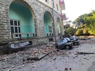 Φωτογραφία για Διπλό χτύπημα του Εγκέλαδου στην Αλβανία - Συγκλονιστικές εικόνες