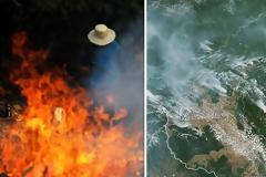 Οι φωτιές στον Αμαζόνιο συνεχίζουν να μαίνονται
