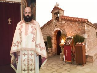 Φωτογραφία για Ο ιερομόναχος π. Νικόδημος Ζαβογιάννης κατασκεύασε και τελείωσε το εκκλησάκι «κόσμημα» του Αγίου Νικοδήμου στον Κουβαρά Φυτειών