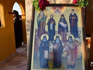 Φωτογραφία για Οι Άγιοι Παΐσιος, Πορφύριος και Ιάκωβος περιπολούν στην μεθόριο