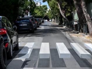 Φωτογραφία για Τρισδιάστατες διάβασεις πεζών στην Αθήνα