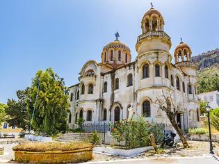 Φωτογραφία για Εργασίες αποπεράτωσης του Αγίου Γεωργίου του Σαντραπέ στο Καστελόριζο μετά από 112 χρόνια