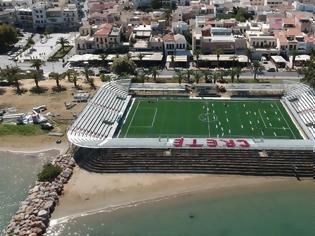 Φωτογραφία για Γήπεδο στολίδι στο Ρέθυμνο για μινι ποδόσφαιρο