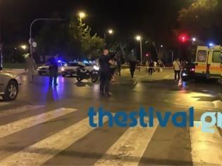 Φωτογραφία για Μετωπική σύγκρουση με δέκα τραυματίες έξω από τη Θεσσαλονίκη