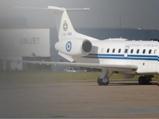 Φωτογραφία για Δύο αεροδιακομιδές από Σαντορίνη και Κω με το πρωθυπουργικό αεροσκάφος