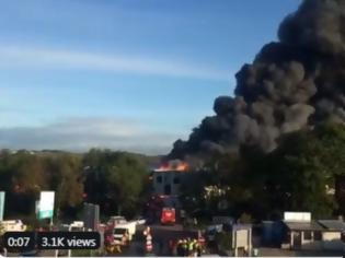 Φωτογραφία για Αυστρία: Έκρηξη κοντά στο αεροδρόμιο του Λιντς