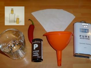 Φωτογραφία για ΚΑΤΑΣΚΕΥΕΣ - Καταστάσεις Έκτακτης Ανάγκης : Φτιάχνω Σπρέι πιπεριού στο σπίτι (Εύκολο, γρήγορο και νομιμοφανές)