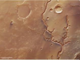 Φωτογραφία για Νέες φωτογραφίες από το σκάφος Mars Express αρχαίων κοιλάδων στον Άρη