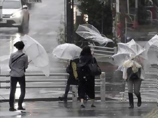 Φωτογραφία για Ιαπωνία: Συναγερμός για τον τυφώνα Χαγκίμπις