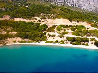 Φωτογραφία για Δείτε την παραλία ΑΓΙΟΣ ΓΕΩΡΓΙΟΣ στον ΑΣΤΑΚΟ από ψηλά - (βίντεο)