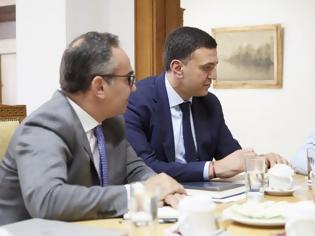 Φωτογραφία για Ο Κ.Μητσοτάκης, ο Βασίλης Κικίλιας και ο Βασίλης Κοντοζαμάνης