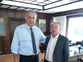 Φωτογραφία για Συνάντηση του Δήμαρχου Μαραθώνος με τον Υπουργό Εσωτερικών