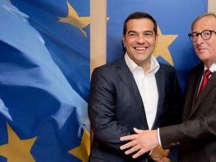 Φωτογραφία για Βρυξέλλες: Ο Τσίπρας συναντήθηκε με τον Γιούνκερ και τον ευχαρίστησε