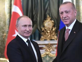 Φωτογραφία για Έκλεισε η συνάντηση Πούτιν - Ερντογαν στο Σότσι