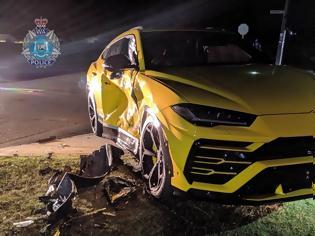 Φωτογραφία για 14χρονος προκαλεί χάος στο δρόμο και καταστρέφει μια Lamborghini