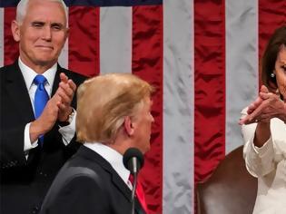 Φωτογραφία για Πελόζι για Τραμπ: Ο πρόεδρος είναι κλονισμένος, προσεύχομαι για την υγεία του