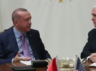 Φωτογραφία για Συμφωνία ΗΠΑ - Τουρκίας: Κατάπαυση πυρός στη Συρία για 120 ώρες