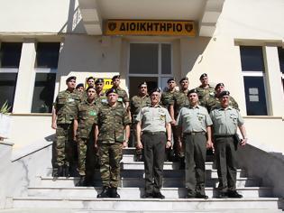 Φωτογραφία για Επίσκεψη Αρχηγού Γενικού Επιτελείου Στρατού στο Κέντρο Εκπαιδεύσεως Πυροβολικού και Υλικού Πολέμου