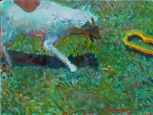 Φωτογραφία για Το πιστό σκυλί και το φίδι