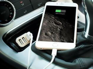 Φωτογραφία για Κινητό τηλέφωνο : Το φορτίζετε στο αμάξι; Σταματήστε το αμέσως!