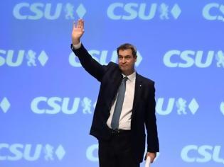 Φωτογραφία για Γερμανία: Με το συντριπτικό 91,3% ο Σέντερ επανεξελέγη στην ηγεσία του CSU