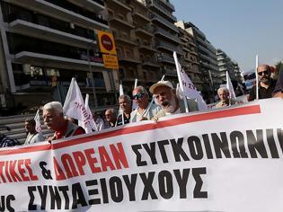 Φωτογραφία για Πορεία στο κέντρο της Θεσσαλονίκης για αύξηση δρομολογίων του ΟΑΣΘ