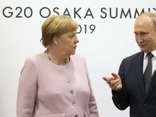 Φωτογραφία για Μέρκελ και Πούτιν θέλουν «πολιτική διευθέτηση» για το συριακό