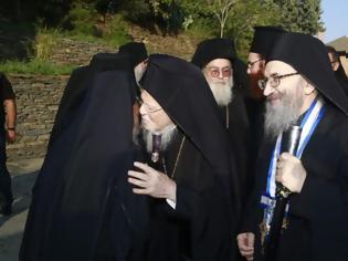 Φωτογραφία για 12631 - Ο Οικουμενικός Πατριάρχης στην πρωτεύουσα του Αγίου Όρους
