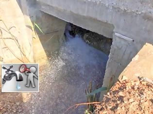 Φωτογραφία για Σοβαρή και μεγάλη η βλάβη στον αγωγό ύδρευσης του ΑΣΤΑΚΟΥ - ΒΙΝΤΕΟ