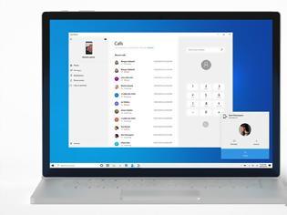 Φωτογραφία για Windows 10:  τηλεφωνικές κλήσεις μέσω του PC για χρήστες Android