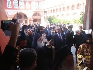 Φωτογραφία για 12641 - Ιστορική επίσκεψη του Οικουμενικού Πατριάρχη στην Ι.Μ. Μ. Βατοπαιδίου, τριάντα χρόνια μετά… (φωτογραφίες και βίντεο)