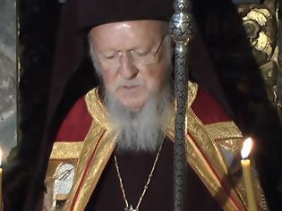 Φωτογραφία για 12642 - Όταν «λύγισε» η φωνή του Οικουμενικού  Πατριάρχη