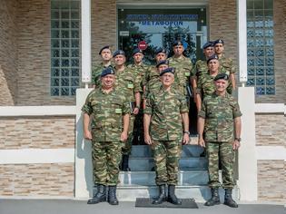 Φωτογραφία για Επίσκεψη Αρχηγού Γενικού Επιτελείου Στρατού στη Μεραρχία Υποστηρίξεως, το Συγκρότημα Στρατηγικών Μεταφορών και το Στρατιωτικό Μουσείο Βαλκανικών Πολέμων