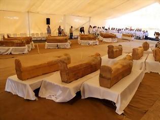 Φωτογραφία για Θαμμένες επί 3.000 χρόνια, οι σαρκοφάγοι στο Λούξορ