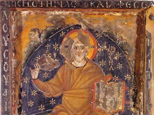 Φωτογραφία για Ο Χριστός Ένθρονος, αρχές 7ου αιώνα