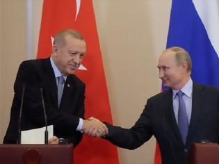 Φωτογραφία για Συμφωνία Πούτιν - Ερντογάν για κοινές περιπολίες στη Συρία