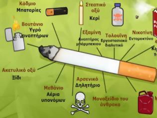 Φωτογραφία για Αυτά είναι τα τοξικά απόβλητα που βάζετε μέσα σας, κάθε φορά που καπνίζετε ένα τσιγάρο. Θα τρομοκρατηθείτε