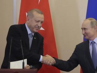 Φωτογραφία για Εισβολή στη Συρία: Συμφωνία Πούτιν - Ερντογάν για νέα κατάπαυση του πυρός 150 ωρών