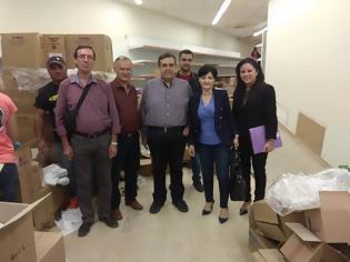 Φωτογραφία για Στο Κοινωνικό Παντοπωλείο Αγρινίου η Αντιπεριφερειάρχης Μαρία Σαλμά για το Πρόγραμμα Επισιτιστικής και Βασικής Υλικής Συνδρομής