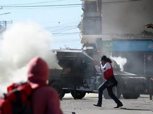 Φωτογραφία για Χάος στη Χιλή: Εκατοντάδες χιλιάδες στους δρόμους - Στους 18 οι νεκροί